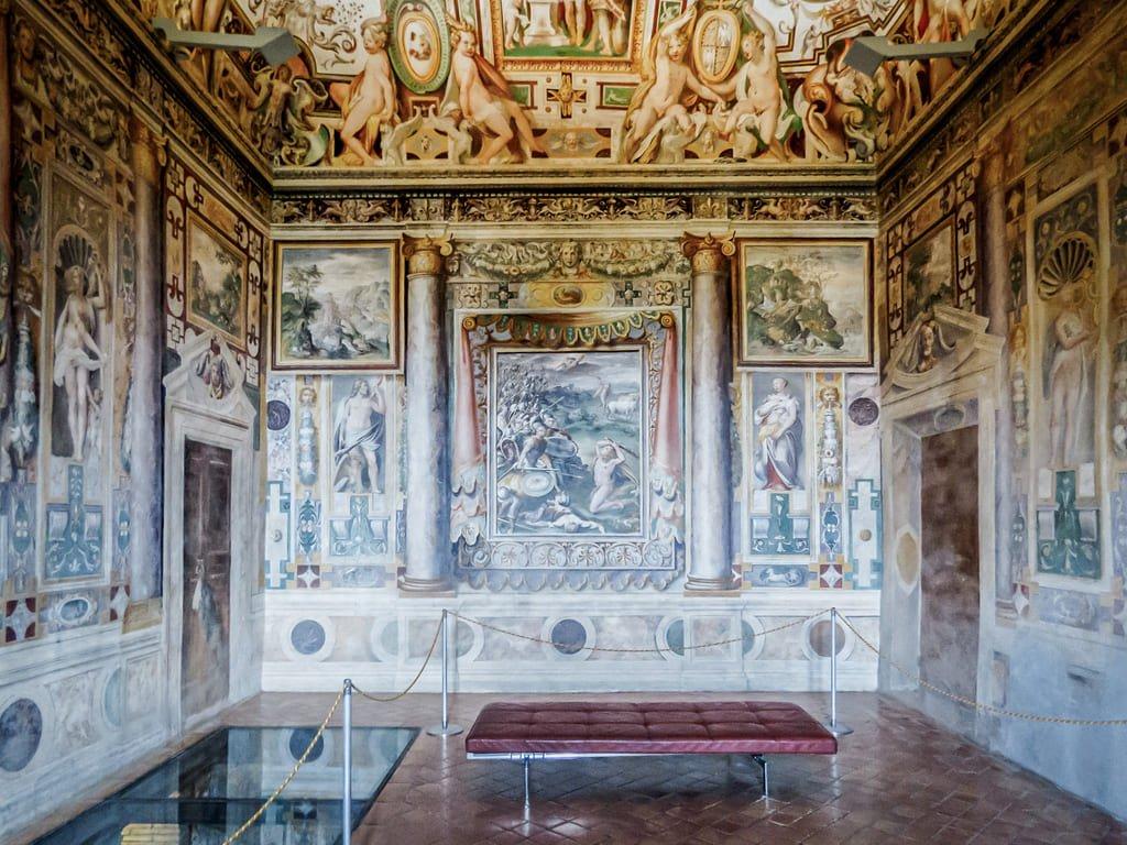 Villa d'Este - fresque