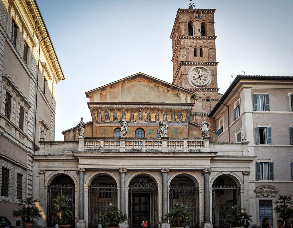 Basilique Sainte-Marie-du-Trastevere