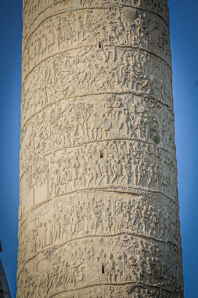 Colonne de Trajan - Bas-reliefs