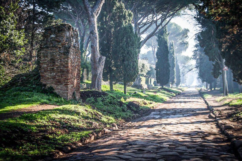 La Via Appia Antica à Rome