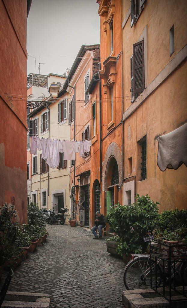Rue du Trastevere