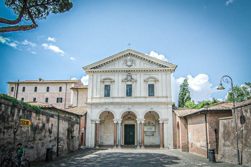Via Appia - Basilique de Saint-Sébastien-Hors-les-Murs