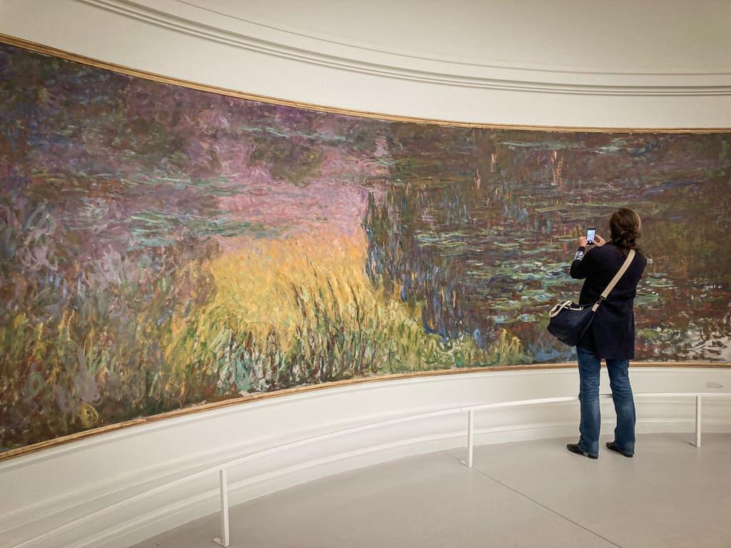 Musée de l'Orangerie - Nymphéas - Monet